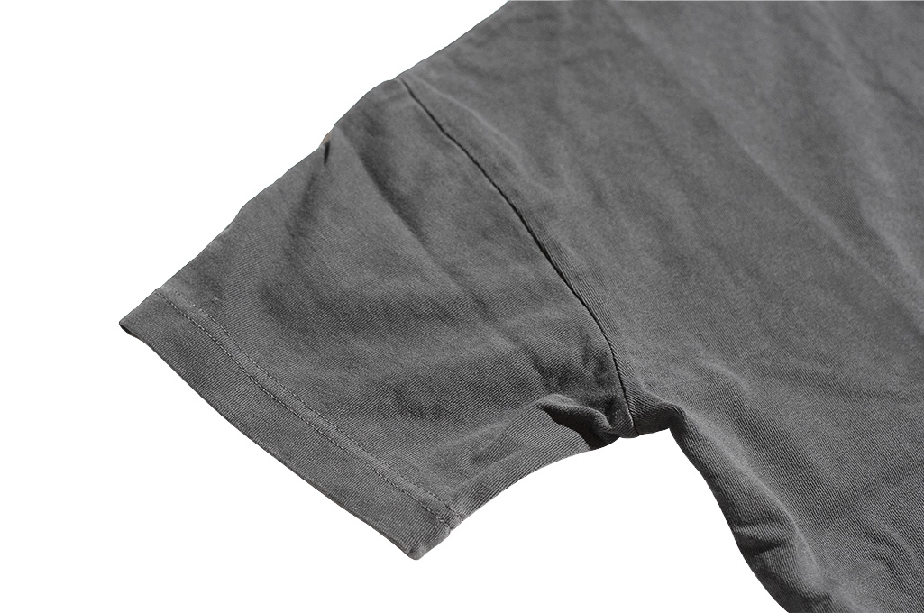 3sixteen Suffused Collection / Overdyed Pocket T-Shirt - Aphotic Anthracite - Image 6