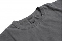 3sixteen Suffused Collection / Overdyed Pocket T-Shirt - Aphotic Anthracite - Image 8