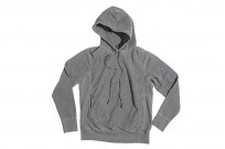 3sixteen Suffused Collection / Overdyed French Terry Pull-Over Hoodie - Aphotic Anthracite - Image 6