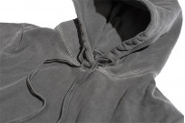 3sixteen Suffused Collection / Overdyed French Terry Pull-Over Hoodie - Aphotic Anthracite - Image 7