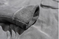 3sixteen Suffused Collection / Overdyed French Terry Pull-Over Hoodie - Aphotic Anthracite - Image 10
