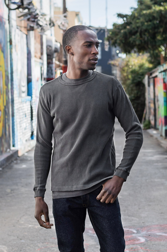 3sixteen Suffused Collection / Overdyed Thermal - Aphotic Anthracite  - Image 1