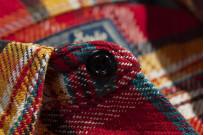 Studio D'Artisan Winter Flannel - Red Eye - Image 10