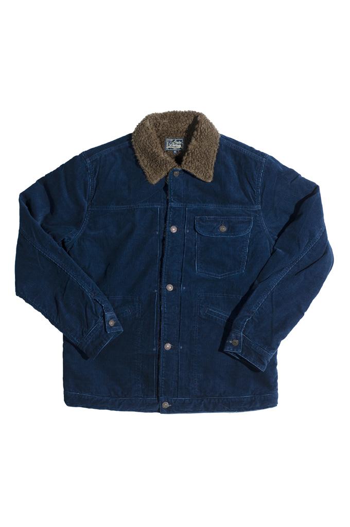 Studio D'Artisan Indigo-Dyed Cord Jacket - Image 3