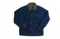 Studio D'Artisan Indigo-Dyed Cord Jacket - Image 4