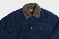 Studio D'Artisan Indigo-Dyed Cord Jacket - Image 6