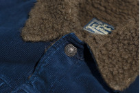Studio D'Artisan Indigo-Dyed Cord Jacket - Image 7