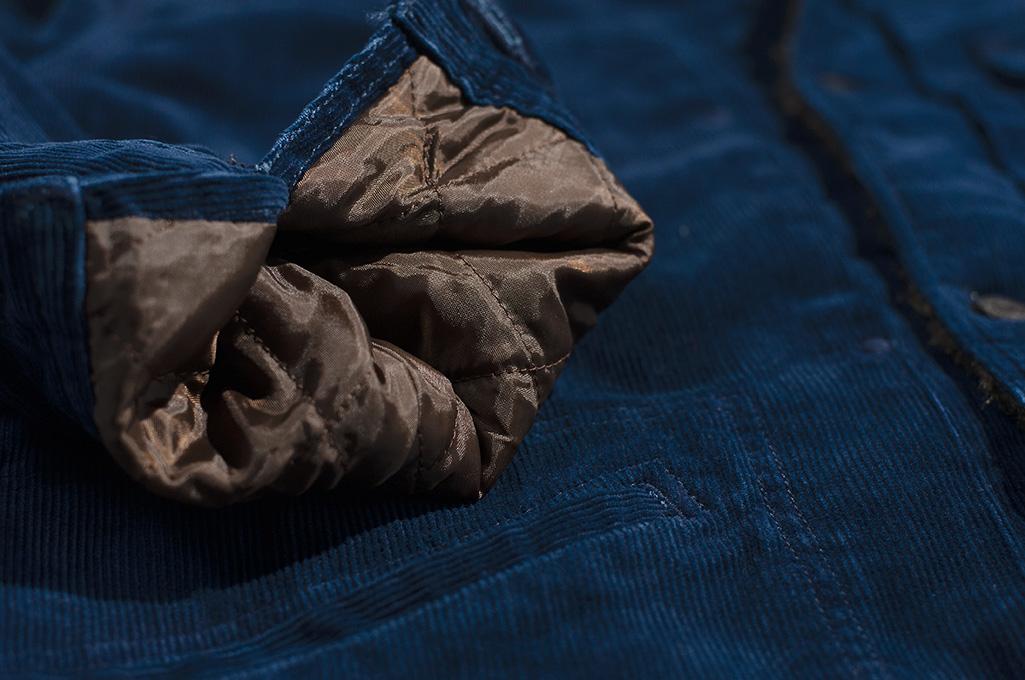 Studio D'Artisan Indigo-Dyed Cord Jacket - Image 10