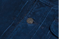 Studio D'Artisan Indigo-Dyed Cord Jacket - Image 11