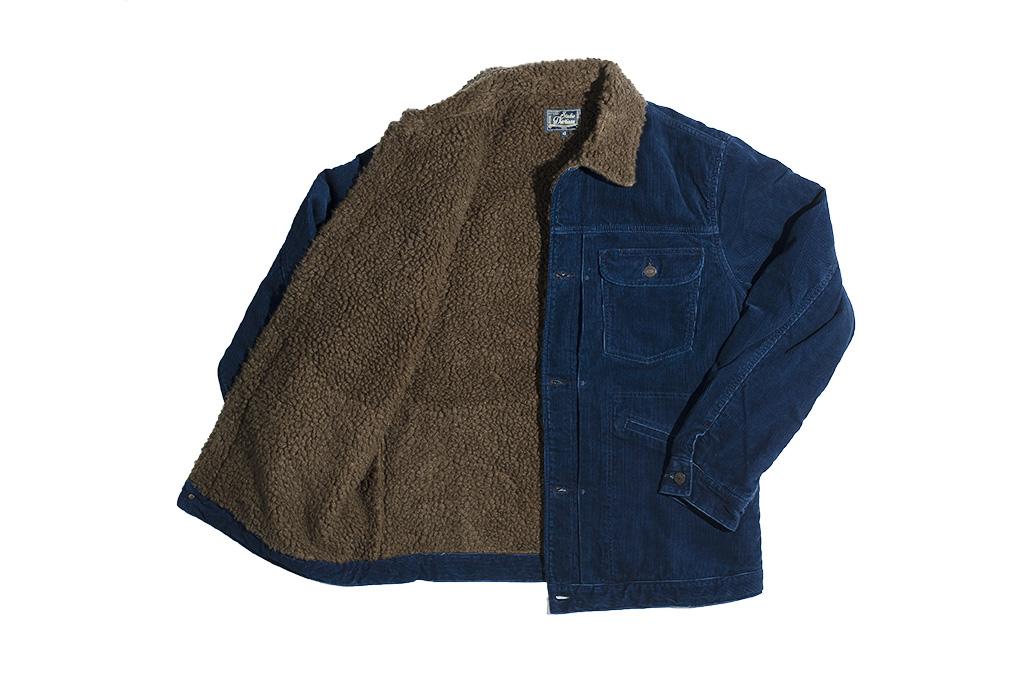 Studio D'Artisan Indigo-Dyed Cord Jacket - Image 12