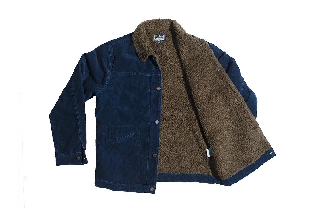 Studio D'Artisan Indigo-Dyed Cord Jacket - Image 13