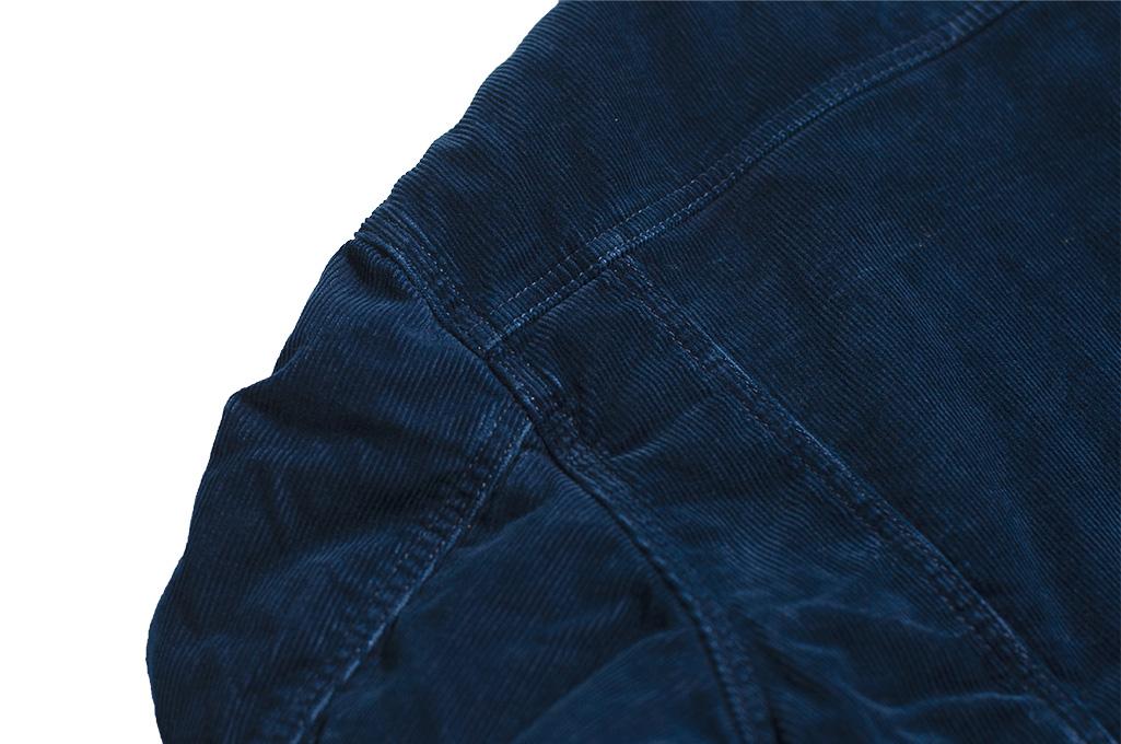 Studio D'Artisan Indigo-Dyed Cord Jacket - Image 15