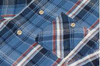 Studio D'Artisan Winter Flannel - Blue Kush - Image 6
