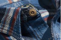 Studio D'Artisan Winter Flannel - Blue Kush - Image 9