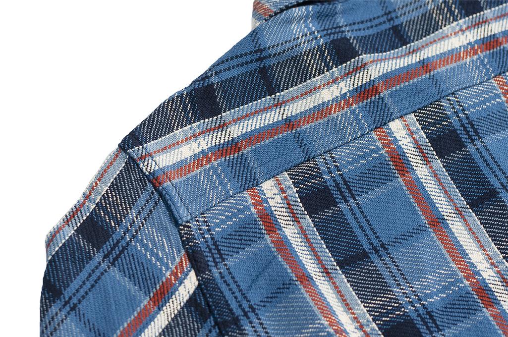 Studio D'Artisan Winter Flannel - Blue Kush - Image 15