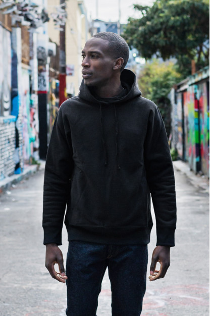 3sixteen Heavyweight Hoodie - Pull-Over Black