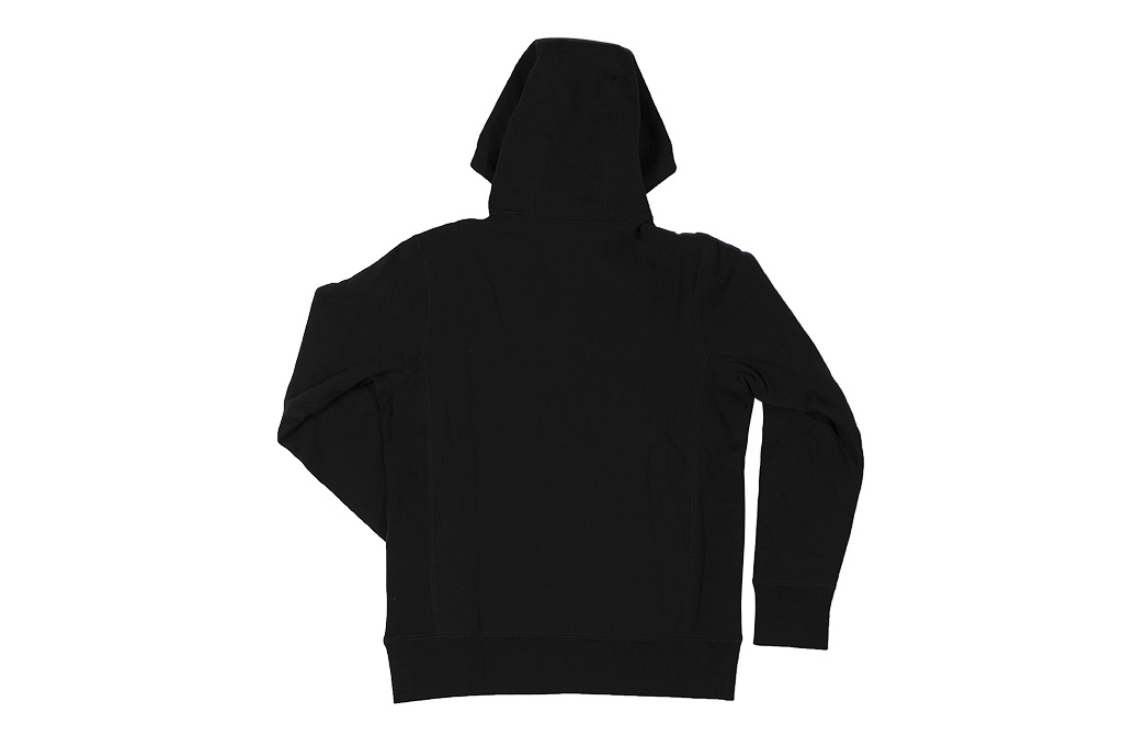 3sixteen Heavyweight Hoodie - Pull-Over Black - Image 11