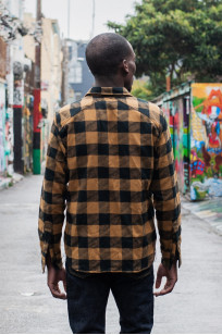 3sixteen Crosscut Flannel - Drunk Check Mustard - Image 4