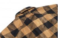 3sixteen Crosscut Flannel - Drunk Check Mustard - Image 14