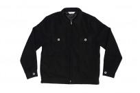 3sixteen Mechanic Jacket - Black Boiled Wool - Image 5