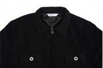 3sixteen Mechanic Jacket - Black Boiled Wool - Image 11