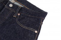 Pure Blue Japan NP-013 17oz Nep Denim Jeans - Slim Tapered - Image 10