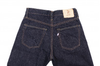 Pure Blue Japan NP-019 17oz Nep Denim Jeans - Straight Tapered - Image 12