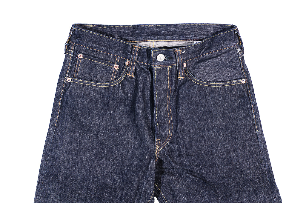 Sugar Cane 2021 14.25oz Denim Jeans - Slim Tapered - Image 6