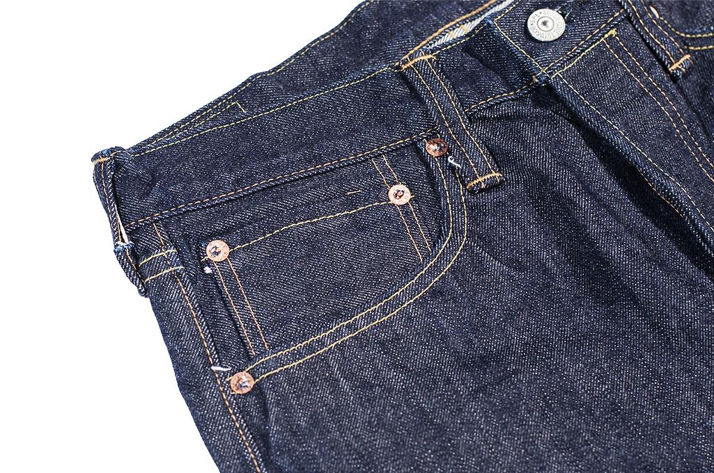 Sugar Cane 2021 14.25oz Denim Jeans - Slim Tapered - Image 10