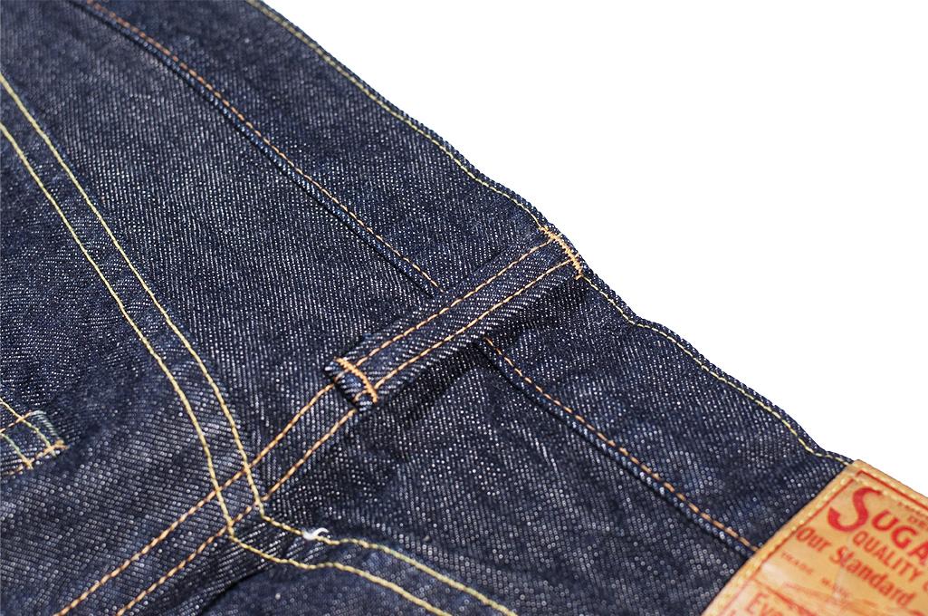 Sugar Cane 2021 14.25oz Denim Jeans - Slim Tapered - Image 16