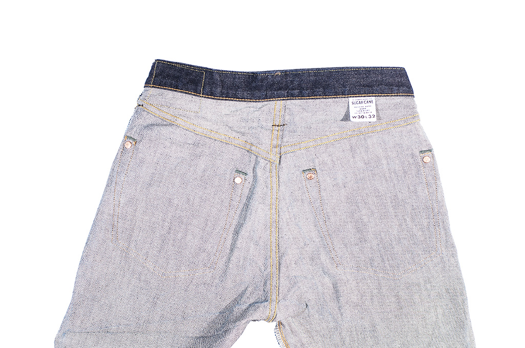 Sugar Cane 2021 14.25oz Denim Jeans - Slim Tapered - Image 22