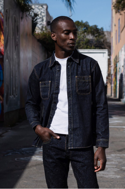 Studio D'Artisan 14oz Denim Workshirt