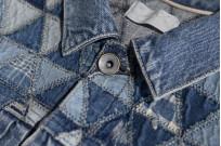 """Studio D'Artisan O△X """"OG Wyte"""" Denim Jacket - Image 8"""