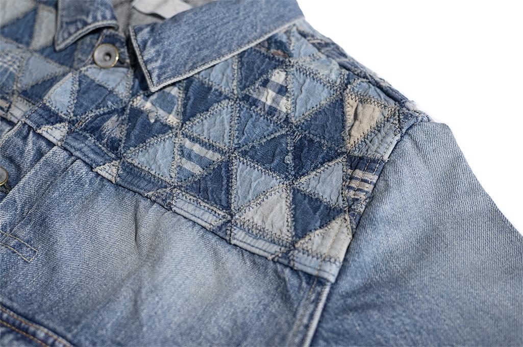 """Studio D'Artisan O△X """"OG Wyte"""" Denim Jacket - Image 11"""