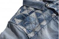 """Studio D'Artisan O△X """"OG Wyte"""" Denim Jacket - Image 12"""