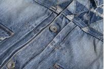 """Studio D'Artisan O△X """"OG Wyte"""" Denim Jacket - Image 14"""