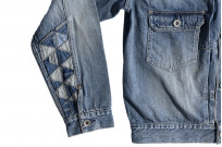"""Studio D'Artisan O△X """"OG Wyte"""" Denim Jacket - Image 17"""