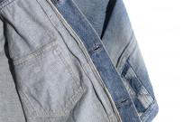 """Studio D'Artisan O△X """"OG Wyte"""" Denim Jacket - Image 21"""