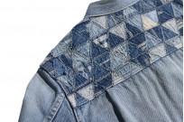 """Studio D'Artisan O△X """"OG Wyte"""" Denim Jacket - Image 23"""