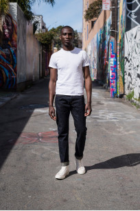Studio D'Artisan G-003 15oz Slubby Denim Jeans - Slim Tapered Rinsed - Image 2