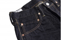 Studio D'Artisan G-003 15oz Slubby Denim Jeans - Slim Tapered Rinsed - Image 8
