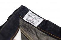 Studio D'Artisan G-003 15oz Slubby Denim Jeans - Slim Tapered Rinsed - Image 10