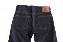 Studio D'Artisan G-003 15oz Slubby Denim Jeans - Slim Tapered Rinsed - Image 13