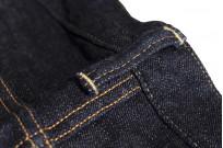 Studio D'Artisan G-003 15oz Slubby Denim Jeans - Slim Tapered Rinsed - Image 15