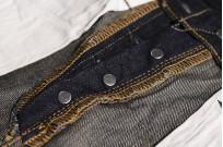 Studio D'Artisan G-003 15oz Slubby Denim Jeans - Slim Tapered Rinsed - Image 18