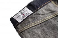 Studio D'Artisan G-003 15oz Slubby Denim Jeans - Slim Tapered Rinsed - Image 19