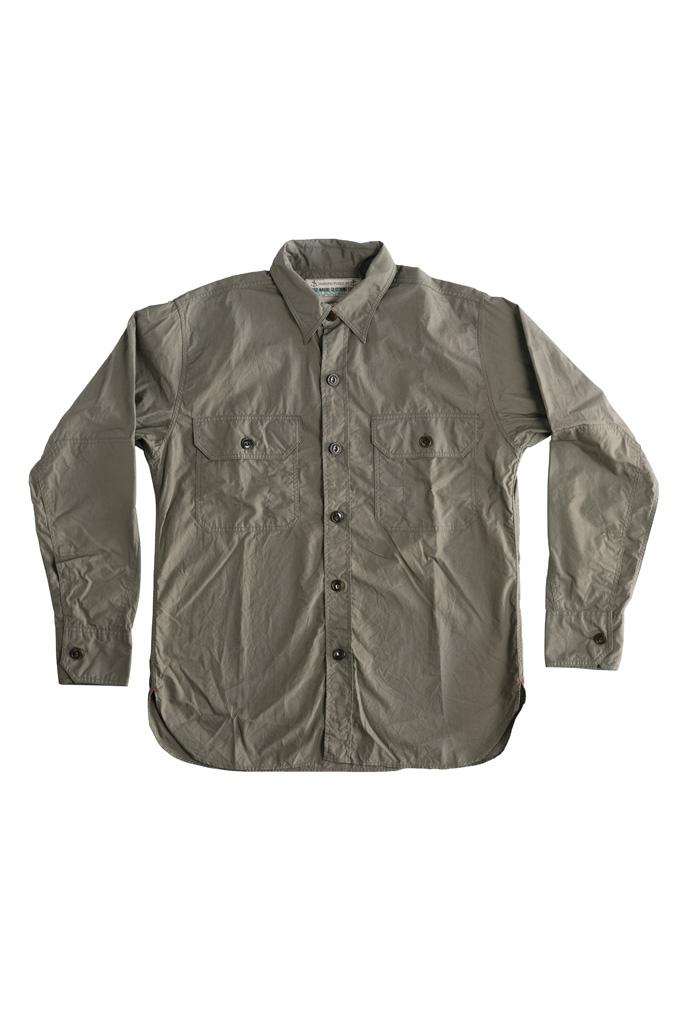 Mister Freedom Snipes Shirt - Olive Drab Poplin - Image 7