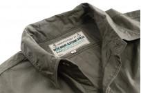 Mister Freedom Snipes Shirt - Olive Drab Poplin - Image 9