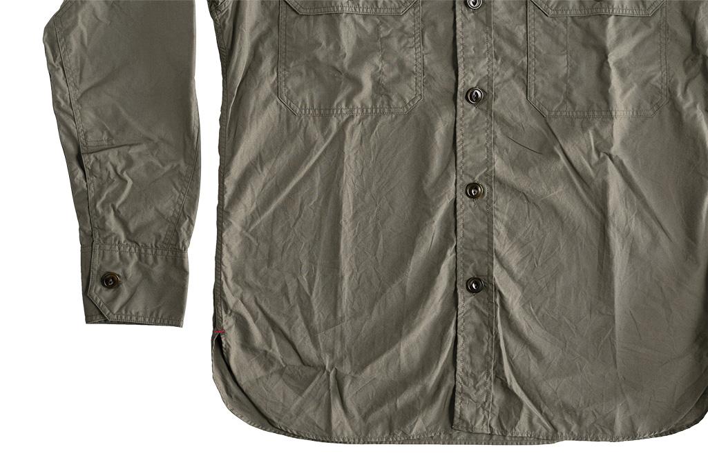 Mister Freedom Snipes Shirt - Olive Drab Poplin - Image 14