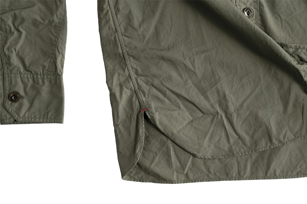 Mister Freedom Snipes Shirt - Olive Drab Poplin - Image 17